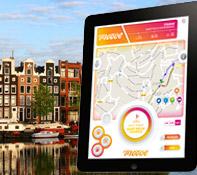 Ipad uitje in Amsterdam