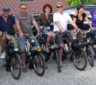 Solex rijden amsterdam