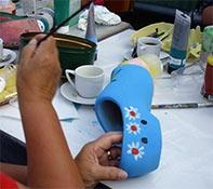 Workshop klompen schilderen Amsterdam