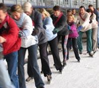 Clinic Langebaan schaatsen Amsterdam
